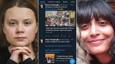 Greta Thunberg 'Toolkit' Case: Disha Ravi, Editor of Google Document, Shared It with Swedish Climate Activist, Says Delhi Police