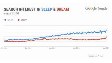 US Google Search for Sleep, Dream & Insomnia Are Higher Now More than Ever in History! From 'How to Fall Asleep Fast?' to 'What Is Sleep Apnea?' All the Top Queries Answered