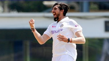 Ishant Sharma Plays His 100th Test Match at Narendra Modi Cricket Stadium; Sachin Tendulkar, Virender Sehwag & Suresh Raina Lead Cricket Fraternity in Congratulating Veteran Indian Pacer