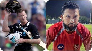 Punjab Kings Batting Coach Wasim Jaffer Shares a Hilarious Post After Their Former Player James Neesham Slams 45 Runs From 16 Balls Against Australia During 2nd T20I 2021