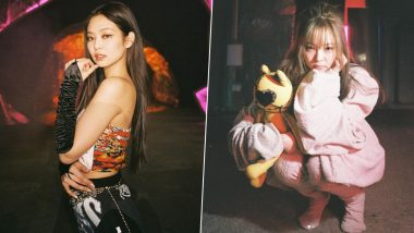 BLACKPINK Jennie Is Valentine Week 2021 Crush of the Day: Cute as a Teddy Bear, This K-Pop Singer Rules Blinks With Her Ultra Charming Looks