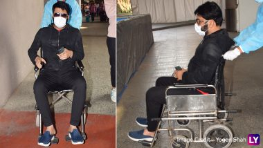 Kapil Sharma Reveals Why He Was Being Wheeled Out of the Mumbai Airport, Opens Up About His Injury