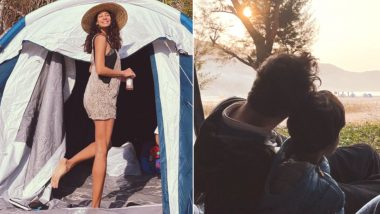 Lisa Haydon Shares Sneak Peek from Her Valentine's Day Camping Trip (See Pics)