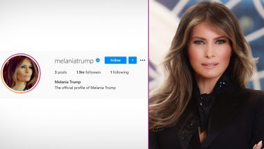 Melania Trump, Former First Lady of the US, Deletes All Her Posts on Instagram Amid Rumours of Divorce With Donald Trump
