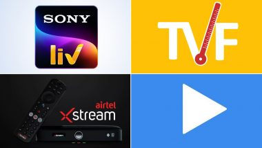 Top 5 Movie Streaming Apps on Google Play Store: SonyLIV, TVF Play, Airtel Xstream, MX Player & Amazon Prime Video