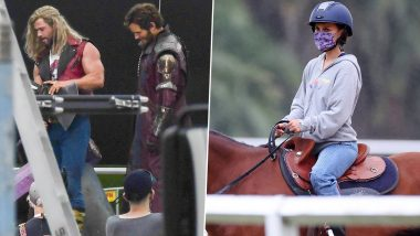 Thor: Love and Thunder- Chris Hemsworth, Chris Pratt Shoot in Sydney While Natalie Portman Takes Riding Lessons, Pictures From the Sets of the Marvel Film Leaked!