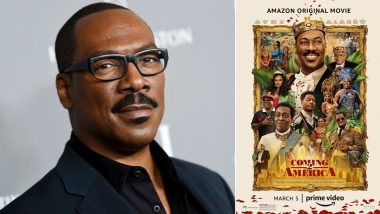 Eddie Murphy Says Coming to America Sequel Is a Cool Continuation