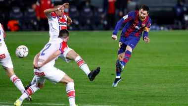 Lionel Messi Goals Video Highlights: Barcelona Beat Deportivo Alaves 5-1 in La Liga 2020-21 Clash