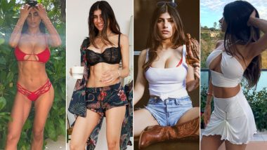 Valentine's Day 2021 Sexy Lingerie and Outfit Inspiration From XXX OnlyFans Star Mia Khalifa! From Mesh to Layers, HOT Ways to Style Yourself on February 14