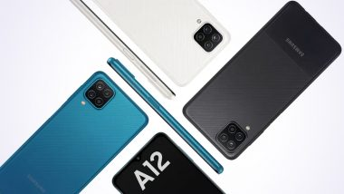 Samsung Galaxy A12 with 5,000mAh Battery Launched in India at Rs 12,999