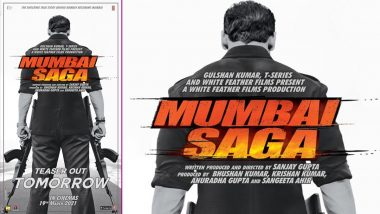 Mumbai Saga: John Abraham and Emraan Hashmi's Action-Crime Thriller Story To Release in Theatres on March 19!
