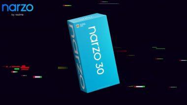 Realme Narzo 30 Series Teased on Flipkart, Narzo 30 Pro Retail Box Revealed by CEO Madhav Sheth