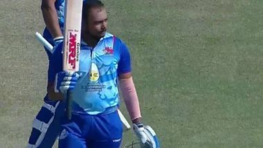 Prithvi Shaw Scores Double Century Against Puducherry in Vijay Hazare Trophy 2021