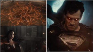 'Black Suit Superman' Rules in This Teasing Glimpse of Zack Snyder's Justice League Trailer (Watch Video)