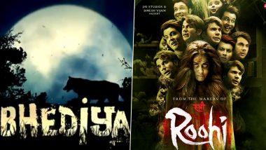 Rajkummar Rao's Roohi to Varun Dhawan's Bhediya, Bollywood's Upcoming Horror Flicks With Blend of Comedy, Romance, Mythology and More