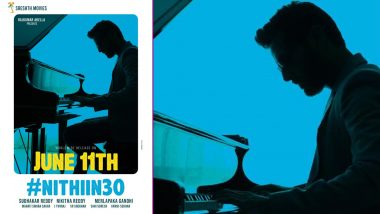 Andhadhun Telugu Remake Poster: Nithiin Turns a Pianist As He Steps Into Ayushmann Khurrana's Shoes (View Pic)