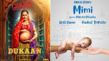 Kriti Sanon's Mimi, Monika Panwar's Dukaan – How Bollywood Is Ready To Bring Surrogacy on the Big Screen