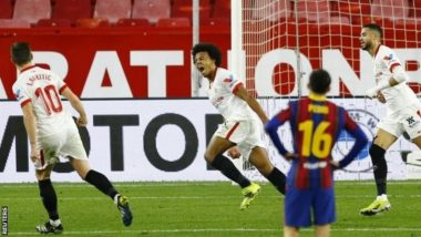 Ivan Rakitic Scores Against Barcelona in Copa del Rey 2021, Sevilla Fans Hail Midfielder After Catalans Lost 2-0 (Watch Video)