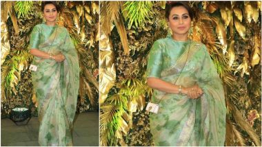 Rani Mukerji on Women's Day 2021: If Women Celebrated Each Other's Success, They Would Be Heard a Lot More