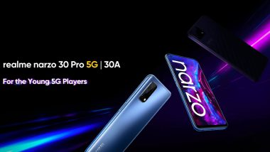 Realme Narzo 30 Series Launching Tomorrow in India; Check Expected Prices, Features & Specifications