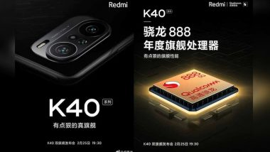 Xiaomi Redmi K40 Series Teased Online; To Come With Triple Rear Cameras & Snapdragon 888 SoC