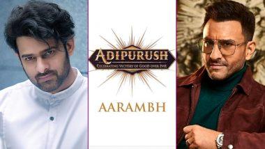 Adipurush: Prabhas, Saif Ali Khan's Mythological Movie to Wrap Production Soon; Grand VFX Work Needed for This 3D Visual Delight