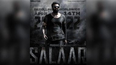 Salaar: Prashanth Neel's Film Starring Prabhas, Shruti Haasan to Release in April 2022