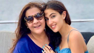 Sara Ali Khan Pens Loving Birthday Note For Mom Amrita Singh, Says 'Happy Birthday to My Whole World'