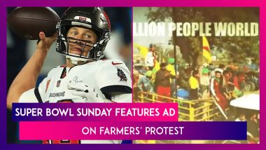 Super Bowl Sunday Features Advertisement On Farmers' Protest; Calls It 'Largest Protest In History'
