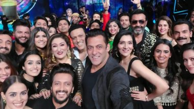 Indian Pro Music League: Salman Khan's Mega Selfie from the Sets of ZEE TV Show Has Govinda, Shraddha Kapoor, Suresh Raina and Others