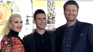 Blake Shelton Says Adam Levine 'Owes' a Performance at His and Gwen Stefani's Wedding