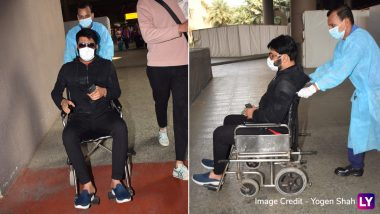 Kapil Sharma Spotted in a Wheelchair at Mumbai Airport and We Wonder How He Got Injured