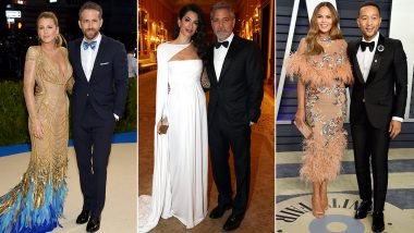 Valentine's Day 2021: From Ryan Reynolds-Blake Lively To George And Amal Clooney, A Look at Hollywood's Most Stylish Couples