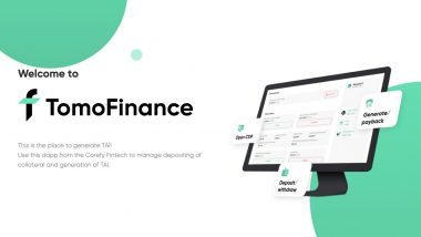 How Tomochain Will Change the Status of DeFi, the Challenge of TomoFinance