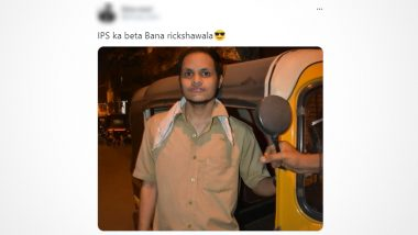 'IPS Ka Beta Bana Rickshawala' Sarcastic Picture Post of Comedian Goes Viral