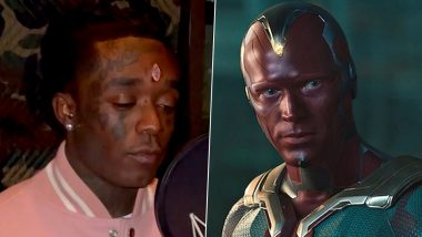 Vision on Mind! Marvel Fans Roast Rapper Lil Uzi Vert for Piercing $24 Million Pink Diamond Into His Forehead, Funny Memes and Jokes Compare His Look to MCU Superhero