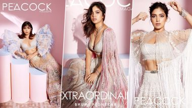 Bhumi Pednekar Makes a Strong Case For Unconventional Brides In her New Photoshoot For Peacock Magazine (View Pics)
