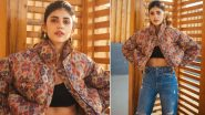 Sanjana Sanghi's Printed Puffer Jacket by Nikita Mhaisalkar Will Cost You a Hefty Sum Of Rs 35,000!