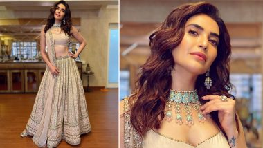 Karishma Tanna Shows You How to Ditch All the Reds and Pick Something Subtle This Wedding Season (View Pics)