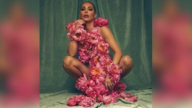 Kim Kardashian is Busy Redefining the Term 'Flower Power'! Check Out Her Hot Pic