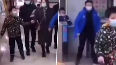 Video of Chinese People Walking Like Penguins Allegedly After COVID-19 Anal Swabs Goes Viral on Social Media, China Calls It 'Fake' News