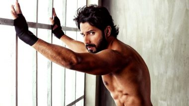 Varun Dhawan Requests Fans To 'Never Back Down'; Actor Gives Major Fitness Goals by Showing Off His Perfect Abs
