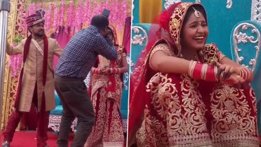Remember the 'Bride' Captured Laughing Uncontrollably Onstage at Her Wedding? Here's the Real Story Behind the Viral Video