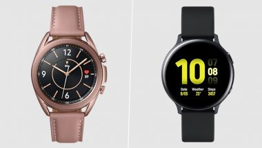 Samsung Galaxy Watch 2, Galaxy Watch 3 Get ECG & Blood Pressure Monitoring Features in more countries