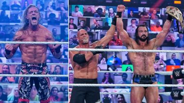 WWE Royal Rumble 2021 Winner, Highlights and Results: Edge Heads to WrestleMania 37; Drew McIntyre Defeats Goldberg to Retain World Title (View Pics)