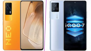iQOO 7 & iQOO Neo5 Reportedly Receive BIS Certifications, Likely To Be Launched in India Soon