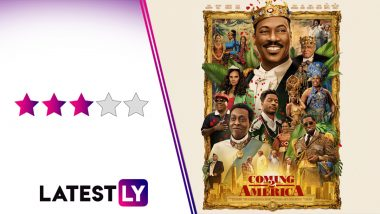 Coming 2 America Movie Review: Eddie Murphy's Sequel Film Prefers Breaking Gender Norms Over Cheap Laughs, and That's a WIN! (LatestLY Exclusive)