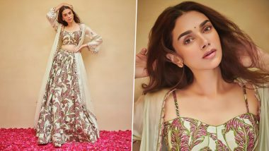 Aditi Rao Hydari is Busy Slaying in her Punit Balana's Co-Ord Set and We're Stunned! (View Pics)