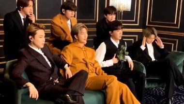 K-Pop BTS' 'That Moment' When They Lost Grammys 2021 to Ariana Grande and Lady Gaga Captured in a Video and Now the ARMY Cannot Get Enough of It!