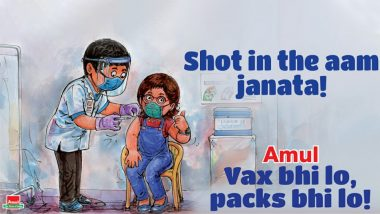 Amul Shares Topical Ad on CoWin Vaccination Drive, Says 'Vax Bhi Lo, Packs Bhi Lo'